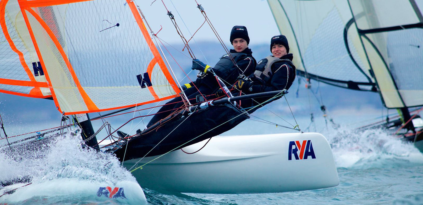 Part of the RYA Pathway and Squad SystemRYA Recognised Youth Multi-hull
